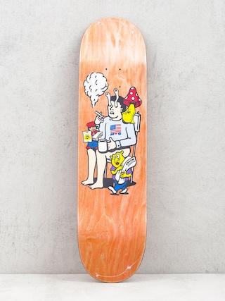 Deska Polar Skate Aaron Herrington Just Like Drugs (orange)