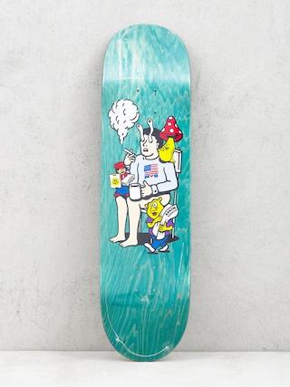 Deska Polar Skate Aaron Herrington Just Like Drugs (green)