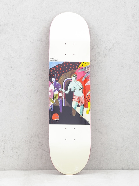 Deska Polar Skate Nick Boserio What We Do Is Secret (white)