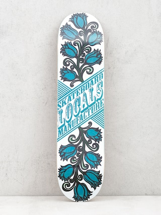 Deska Locals Skateboards Tulipan (blue)