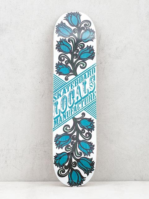 Deska Locals Skateboards Tulipan (blue)