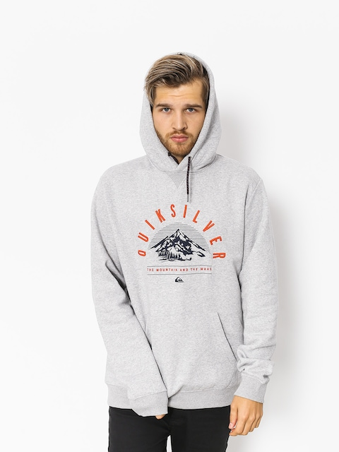 Termomikina  Quiksilver Big Logo Snow (grey heather)