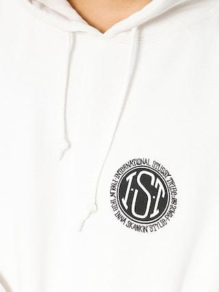 Mikina s kapucí Stussy Skateman Pig Dyed HD (natural)