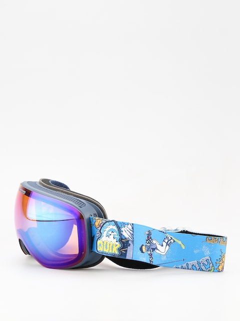 Brýle na snowboard Quiksilver Qs R (a day at mtn glo blu)