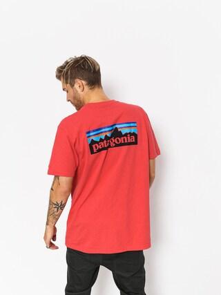 Tričko Patagonia Logo Responsibili (tomato)