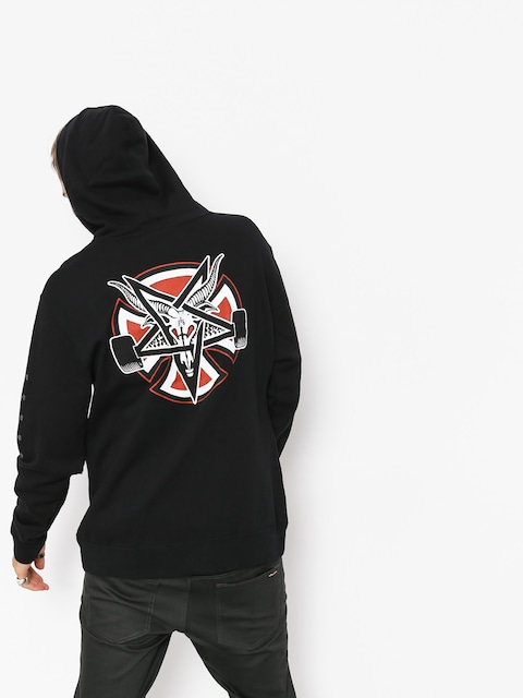 Mikina s kapucí Independent x Thrasher Pentagram Cross HD
