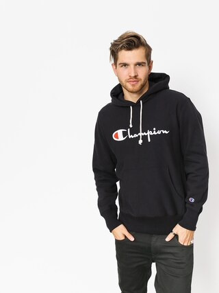 Mikina s kapucí Champion Reverse Weave Hooded Sweatshirt HD (nbk)