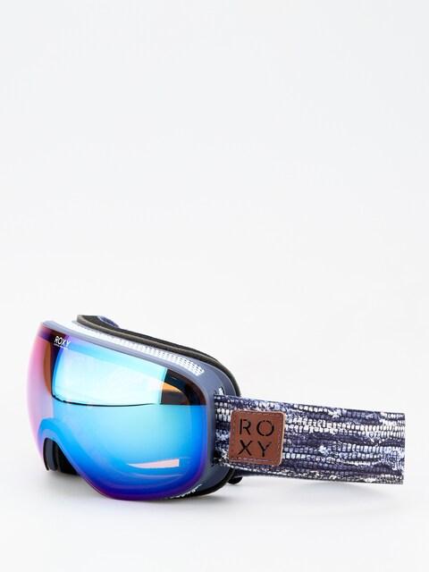 Brýle na snowboard Roxy Popscreen Wmn (denim stripes)
