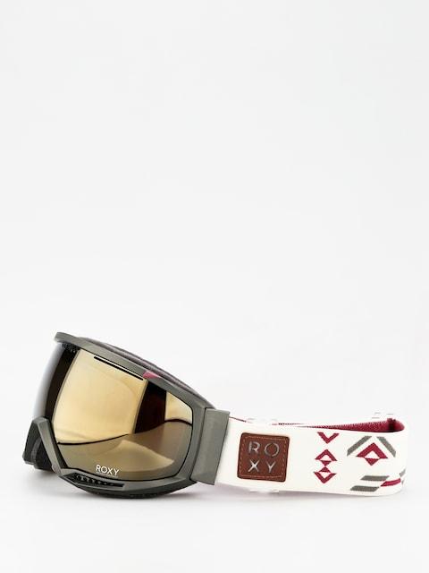 Brýle na snowboard Roxy Hubble Women Wmn (four leaf clover)