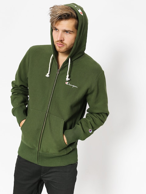 Mikina s kapucí Champion Reverse Weave Hooded Full Zip Sweatshirt ZHD (baf)