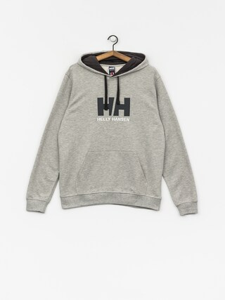 Mikina s kapucí Helly Hansen Logo HD (grey melange)
