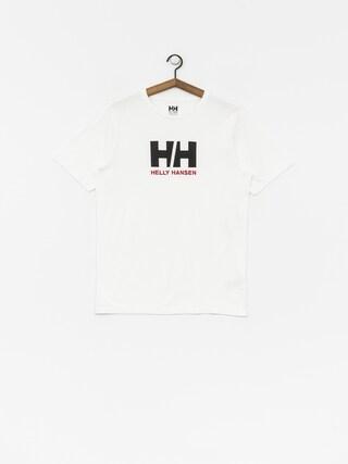 Tričko Helly Hansen Logo (white)
