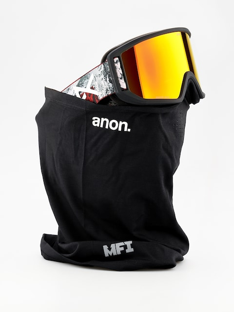 Brýle na snowboard Anon Relapse Mfi (red planet/sonar red)