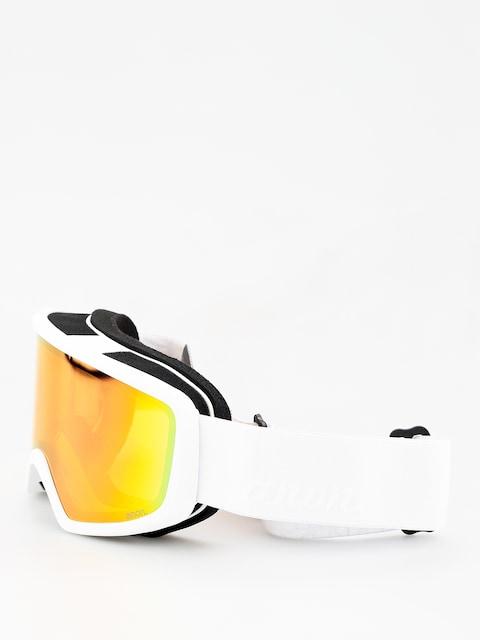 Brýle na snowboard Anon Deringer Wmn (white/sonar pink)