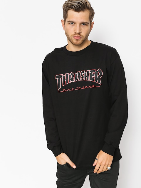 Triko Independent x Thrasher Ttg (black)
