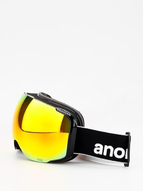 Brýle na snowboard Anon M2 W Spare (black/sonar red)