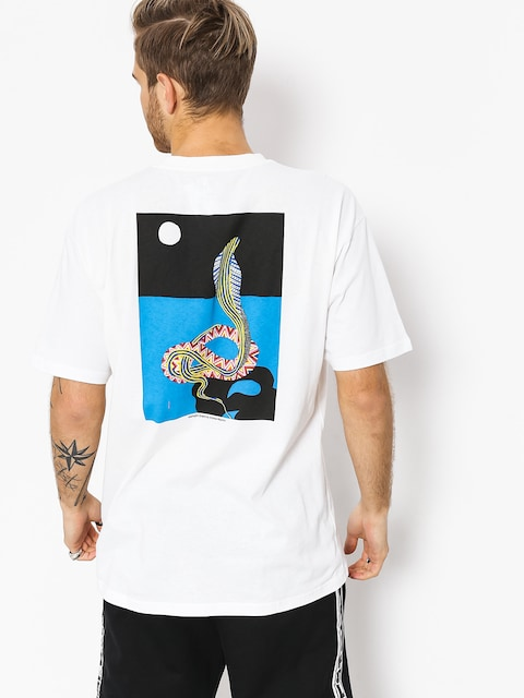 Tričko Polar Skate Midnight Snake (white)