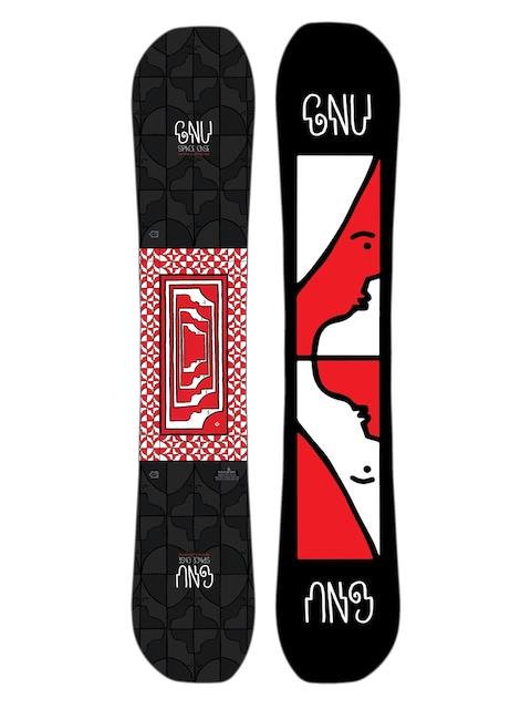 Snowboard Gnu Asym Fb Space Case C2X (black)