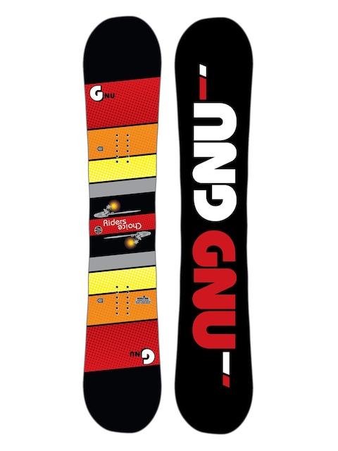 Snowboard Gnu Asym Rider'S Choice C2X (black)