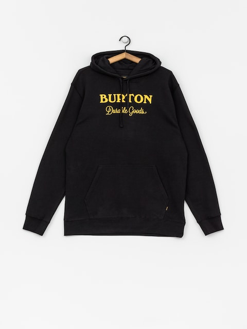 Mikina s kapucí Burton Durable Gds HD (true black)