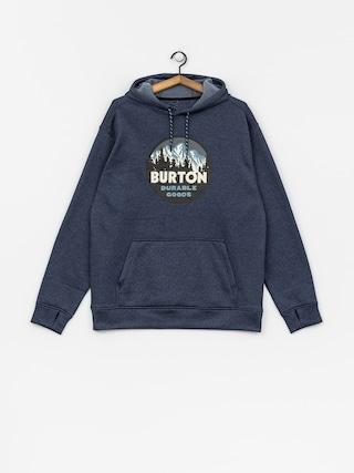 Mikina s kapucí Burton Oak HD (mood indigo heather)