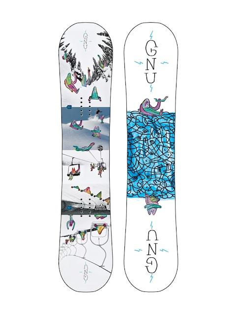 Snowboard Gnu Asym Recess Btx (multi)