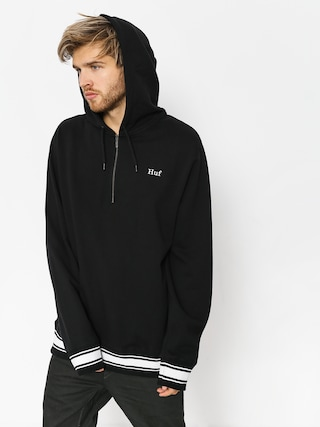 Mikina s kapucí HUF Relay French Terry HD (black)