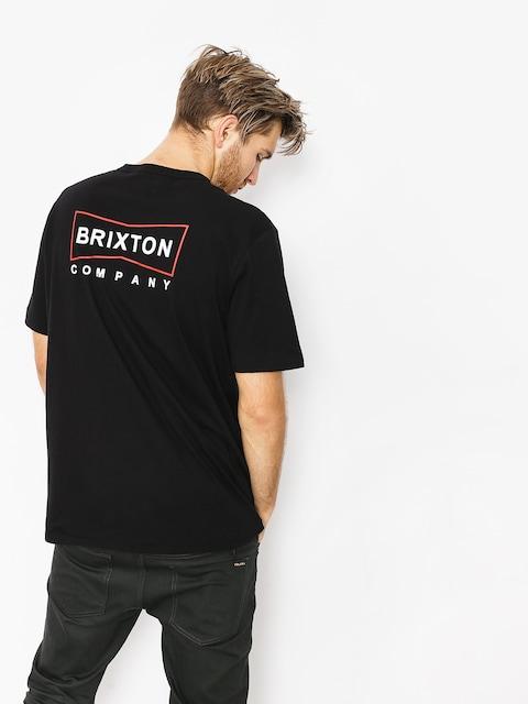 Tričko Brixton Wedge Hnly (black)