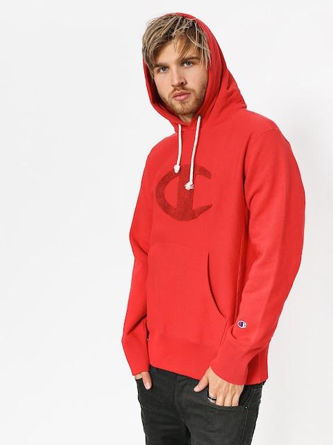 Mikina s kapucí Champion Reverse Weave Hooded Sweatshirt HD (amb)