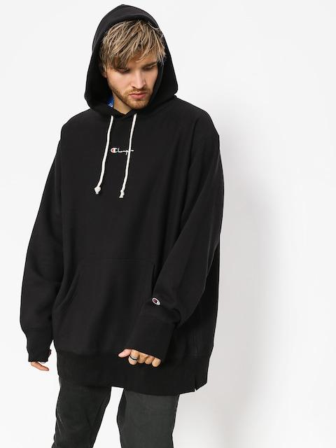 Mikina s kapucí Champion Hooded Oversize Sweatshirt HD (nbk)
