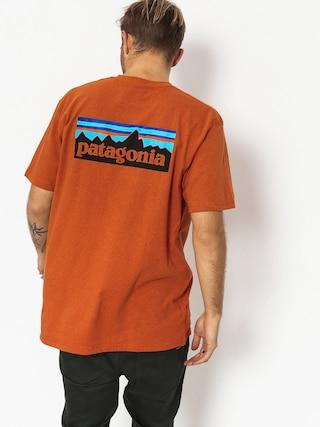 Tričko Patagonia Logo Responsibili (marigold)
