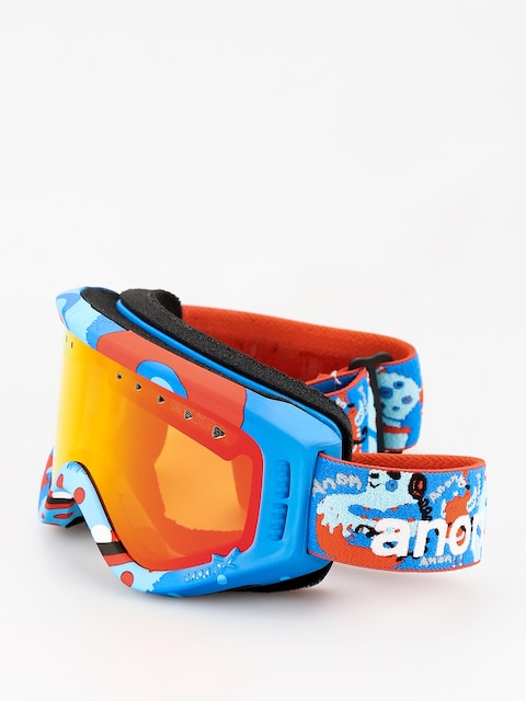 Brýle na snowboard Anon Tracker (party/red amber)