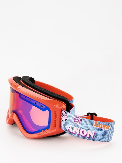 Brýle na snowboard Anon Tracker (girl power/blue amber)