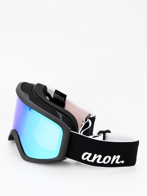 Brýle na snowboard Anon Insight W Spare Wmn (black/green solex)