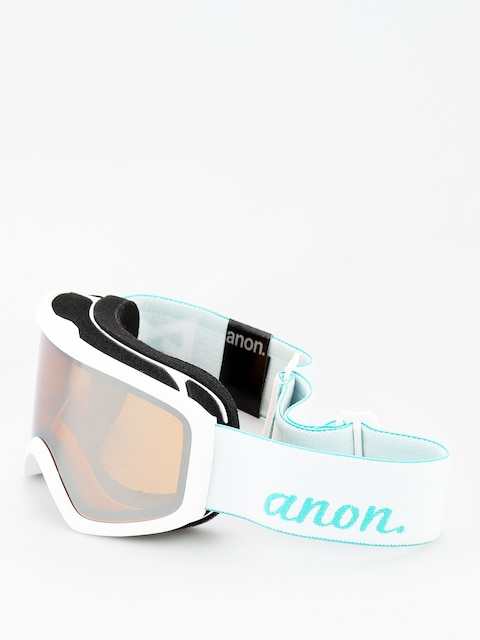 Brýle na snowboard Anon Insight W Spare Wmn (white/silver amber)