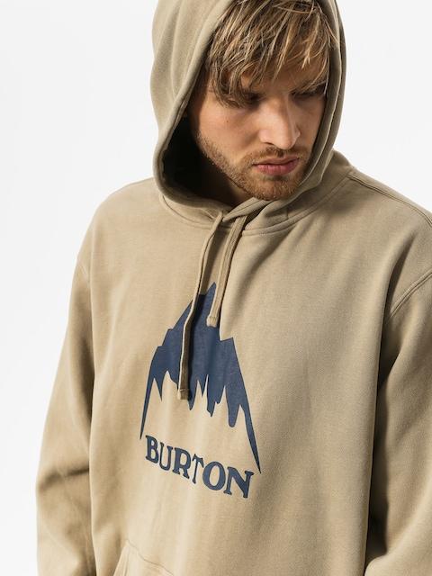 Mikina s kapucí Burton Clssmtnhgh HD (silver sage)
