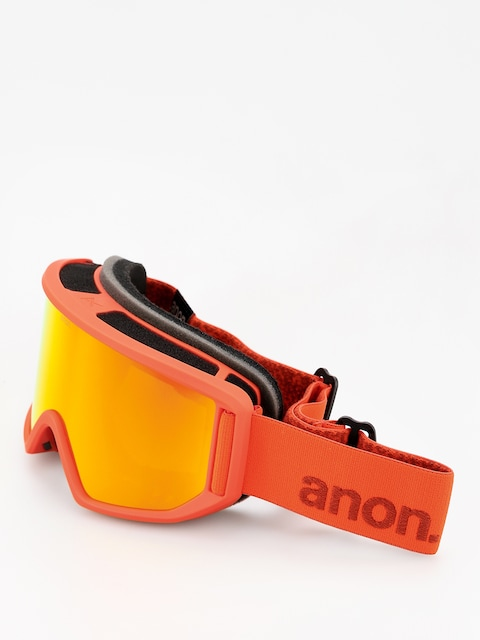 Brýle na snowboard Anon Relapse (red/sonar red)