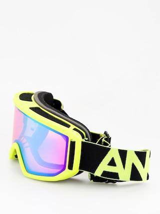 Brýle na snowboard Anon Relapse (black green/sonar green)