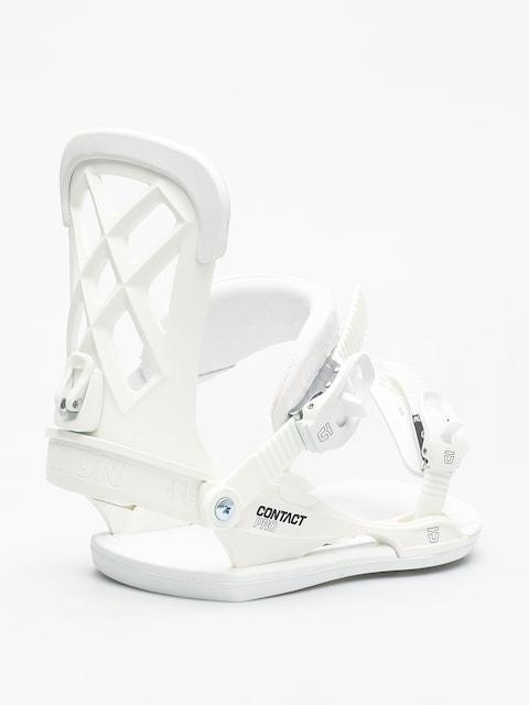 Snowboardové vázání Union Contact Pro (white)