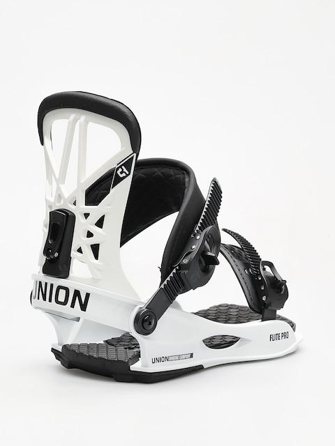 Snowboardové vázání Union Flite Pro (white)