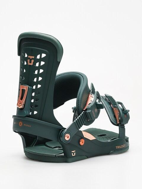 Snowboardové vázání Union Trilogy Wmn (green)