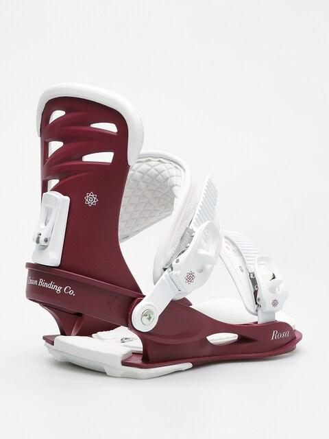 Snowboardové vázání Union Rosa Wmn (burgundy)