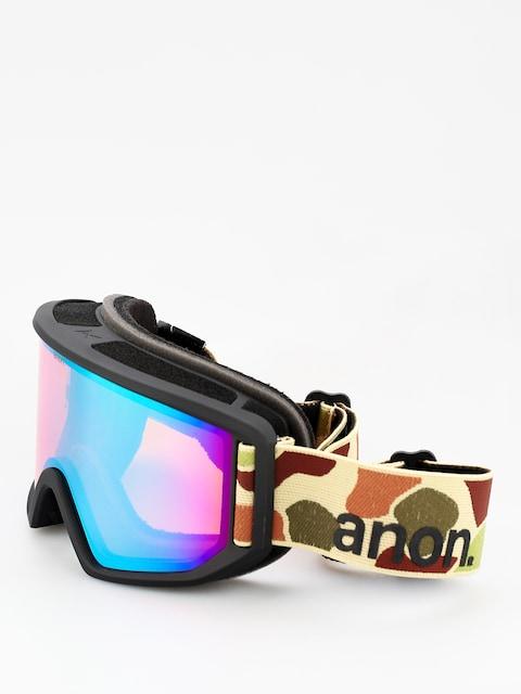 Brýle na snowboard Anon Relapse (duck camo/sonar green)