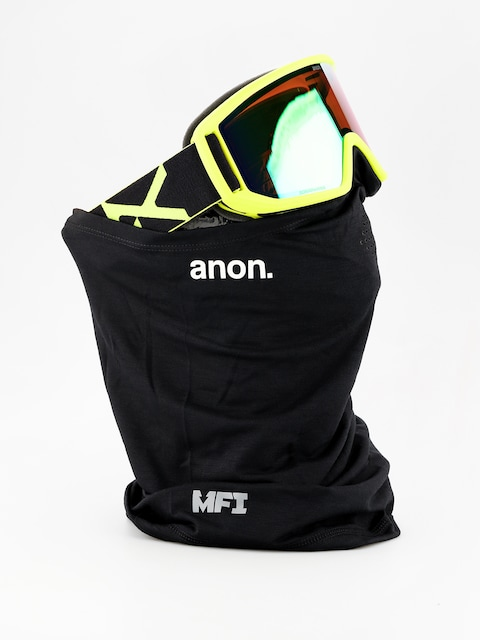 Brýle na snowboard Anon Relapse Mfi (black green/sonar green)