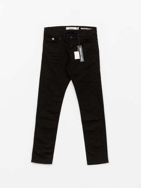 Kalhoty DC Worker Slim Sbr (black rinse)