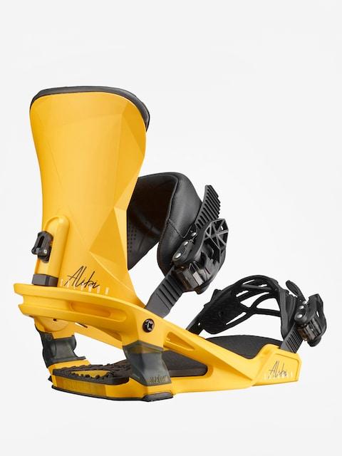 Snowboardové vázání Salomon Alibi (yellow)