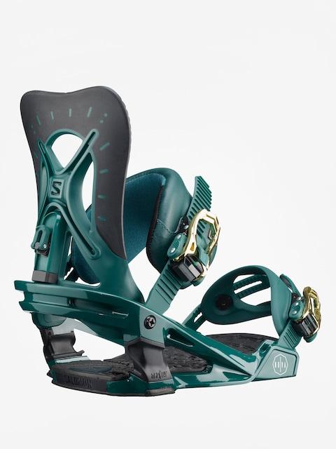 Snowboardové vázání Salomon Nova Wmn (teal green)