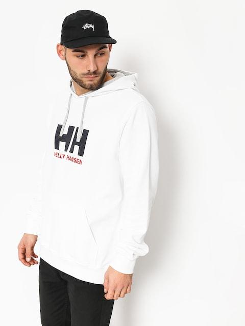 Mikina s kapucí Helly Hansen Logo HD (white)