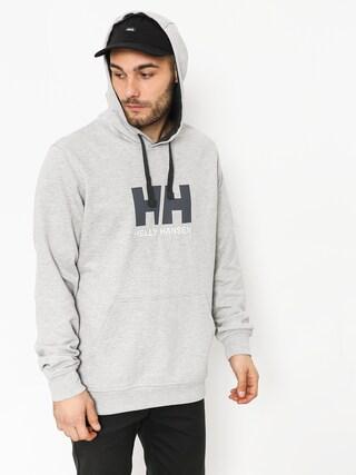 Mikina s kapucu00ed Helly Hansen Logo HD (grey melange)