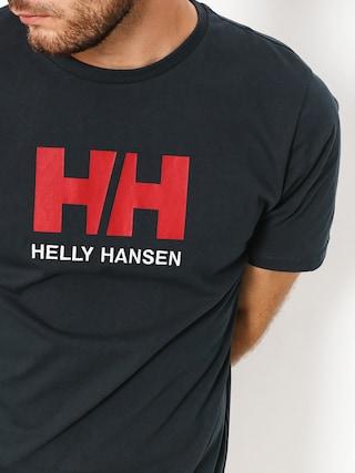 Tričko Helly Hansen Logo (navy)